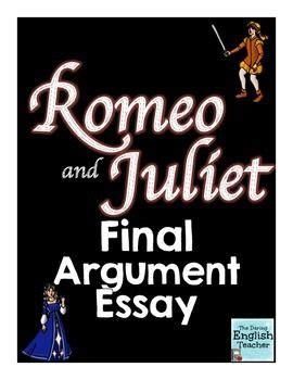 Romeo and Juliet Shakespeare essay